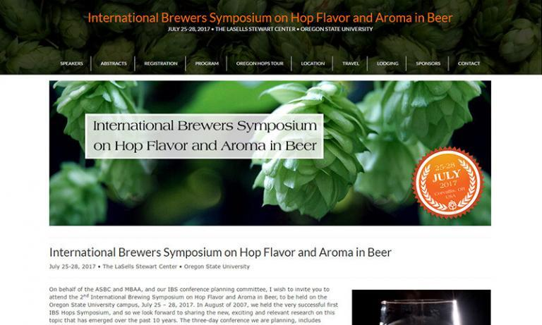 International Brewers Symposium on Hop Flavor and Aroma in Beer