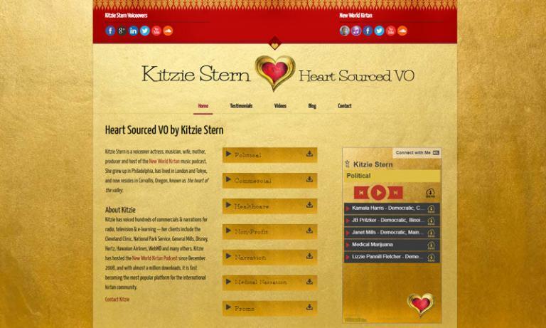 Kitzie Stern, Voice Talent